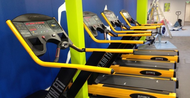 Refurbished Gym Treadmills in Ashwell End