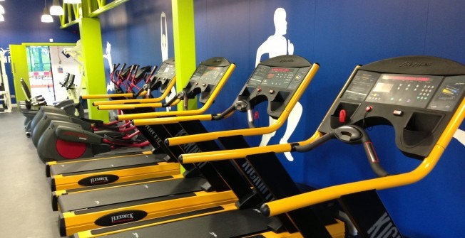 New Gym Treadmills