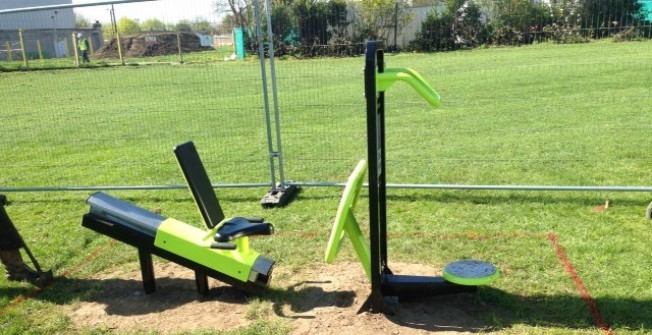 Outdoor Gym Facilities in Bolton Houses