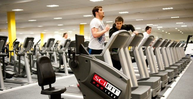 Used Gym Treadmills in Cliff End