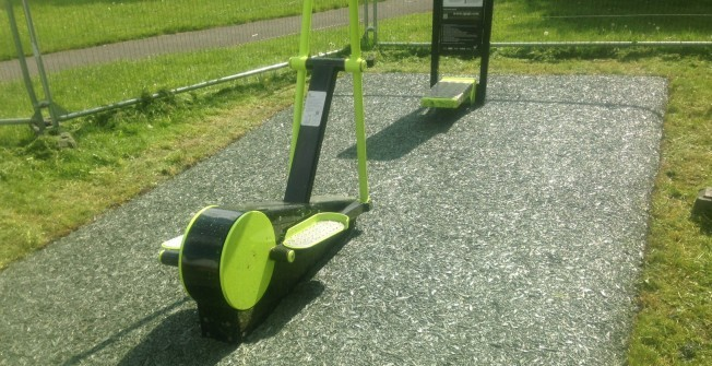 Outdoor Exercise Stations in Bancycapel