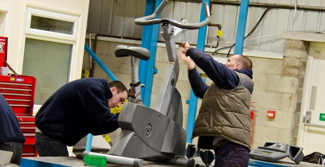 Refurbished Spin Bikes in Abercraf