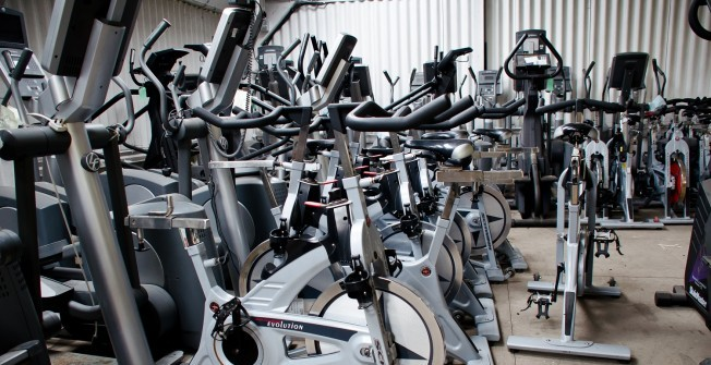 Used Spin Bike Specialists in Caerphilly